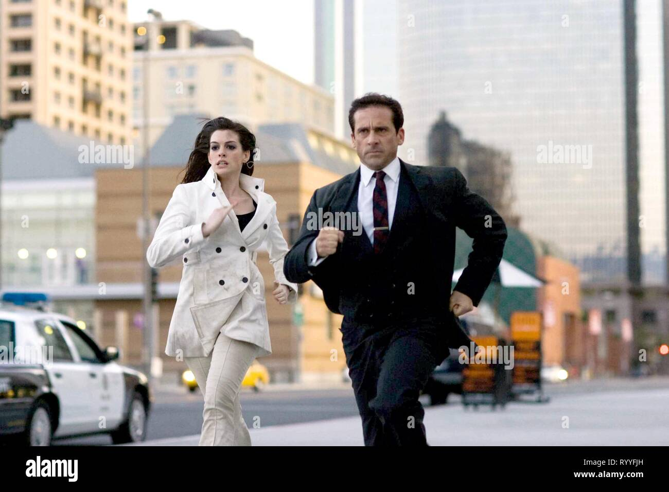 HATHAWAY,CARELL, GET SMART, 2008 - Stock Image