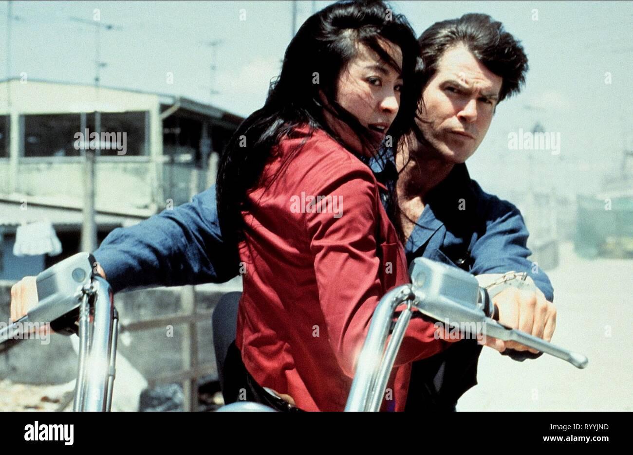 Michelle Yeoh Pierce Brosnan Tomorrow Never Dies 1997 Stock Photo Alamy