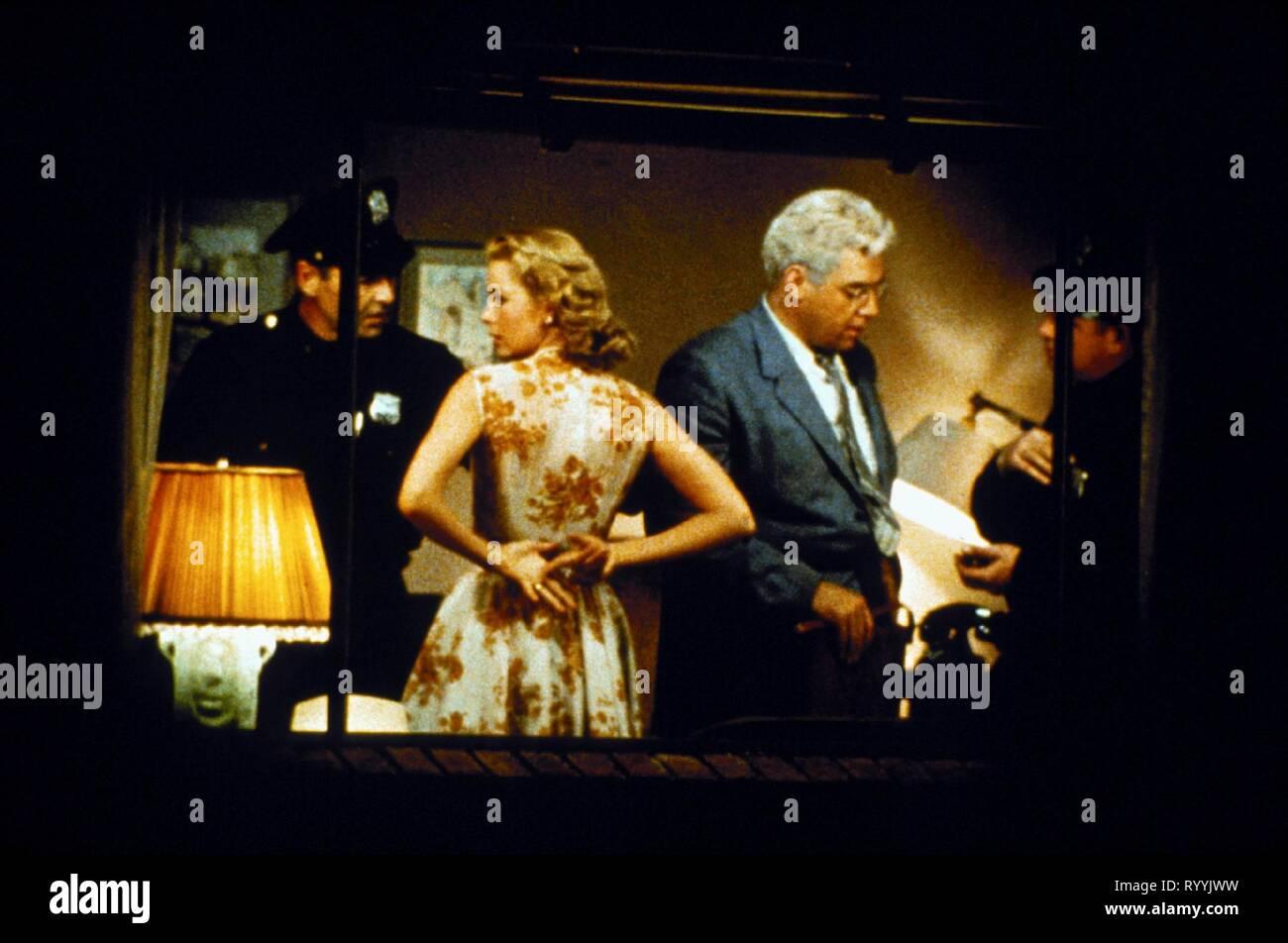 GRACE KELLY, RAYMOND BURR, REAR WINDOW, 1954 - Stock Image