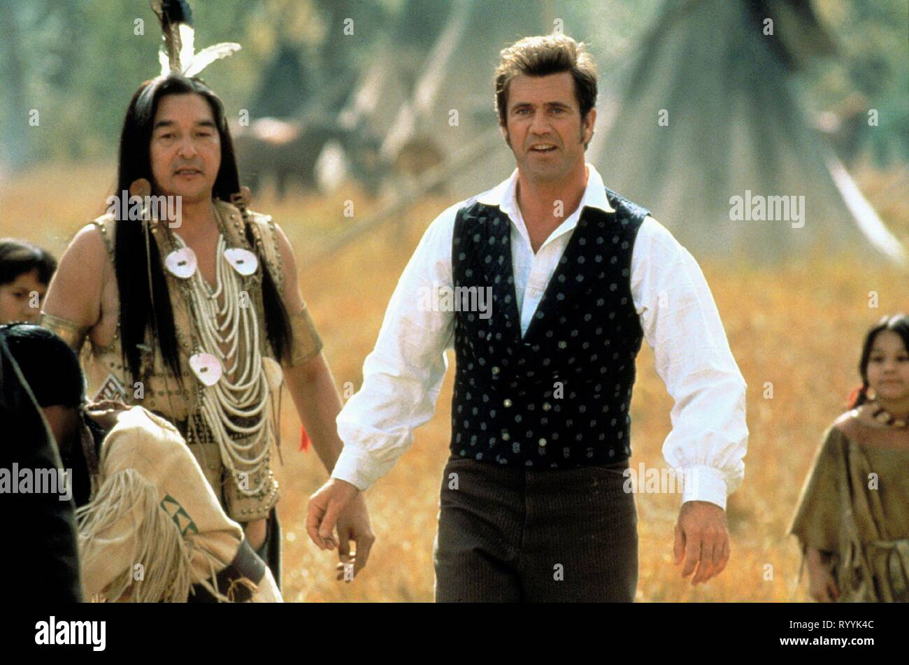 Graham Greene Mel Gibson Maverick 1994 Stock Photo Alamy