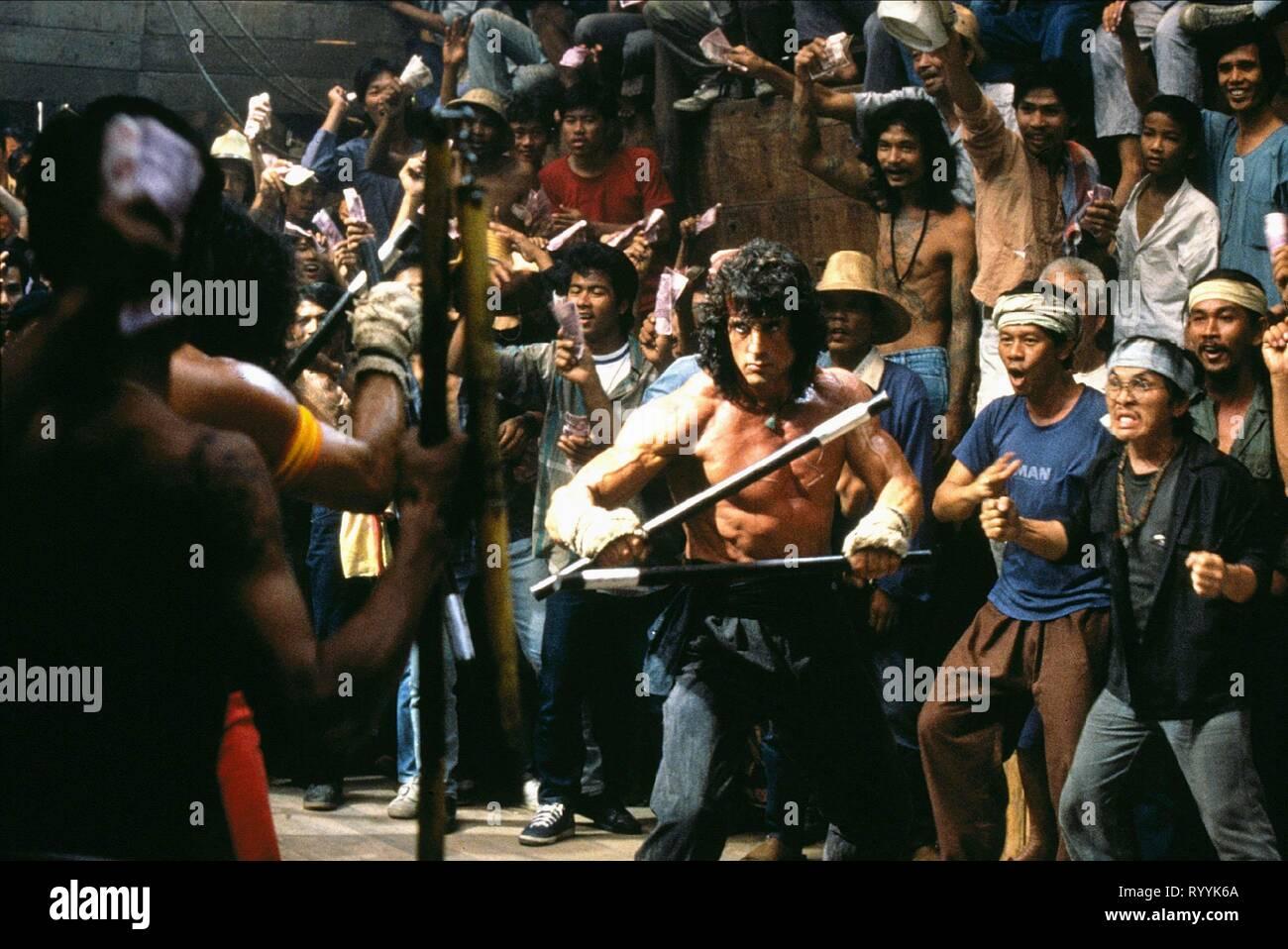 SYLVESTER STALLONE, RAMBO III, 1988 - Stock Image
