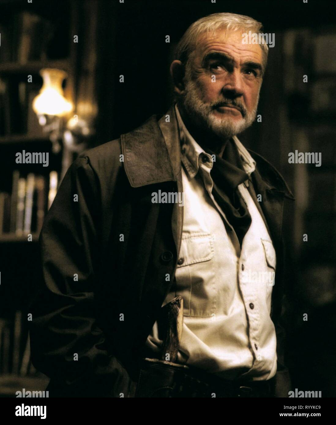 SEAN CONNERY, THE LEAGUE OF EXTRAORDINARY GENTLEMEN, 2003 - Stock Image
