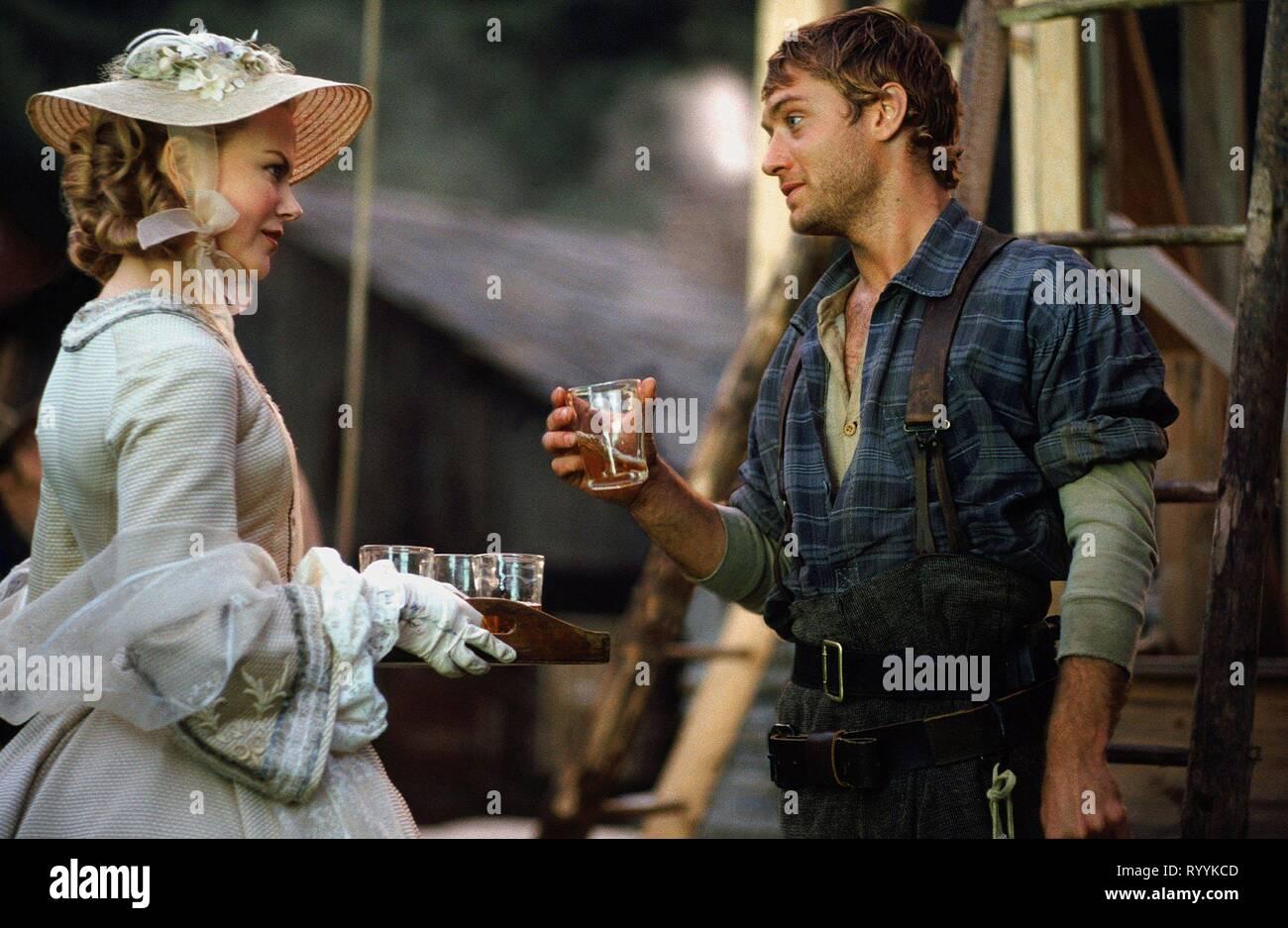 Nicole Kidman Jude Law Cold Mountain 2003 Stock Photo Alamy