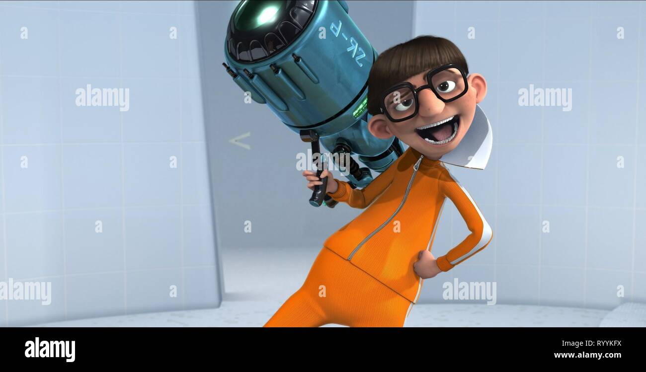 VECTOR, DESPICABLE ME, 2010 - Stock Image