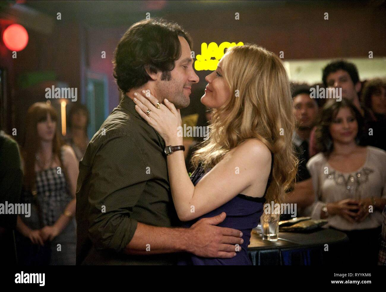 PAUL RUDD, LESLIE MANN, THIS IS 40, 2012 - Stock Image