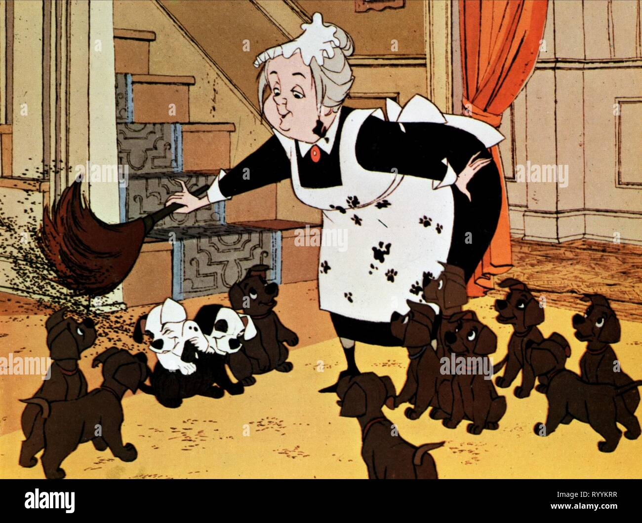 Nanny Dalmatians One Hundred And One Dalmatians 1961 Stock Photo Alamy