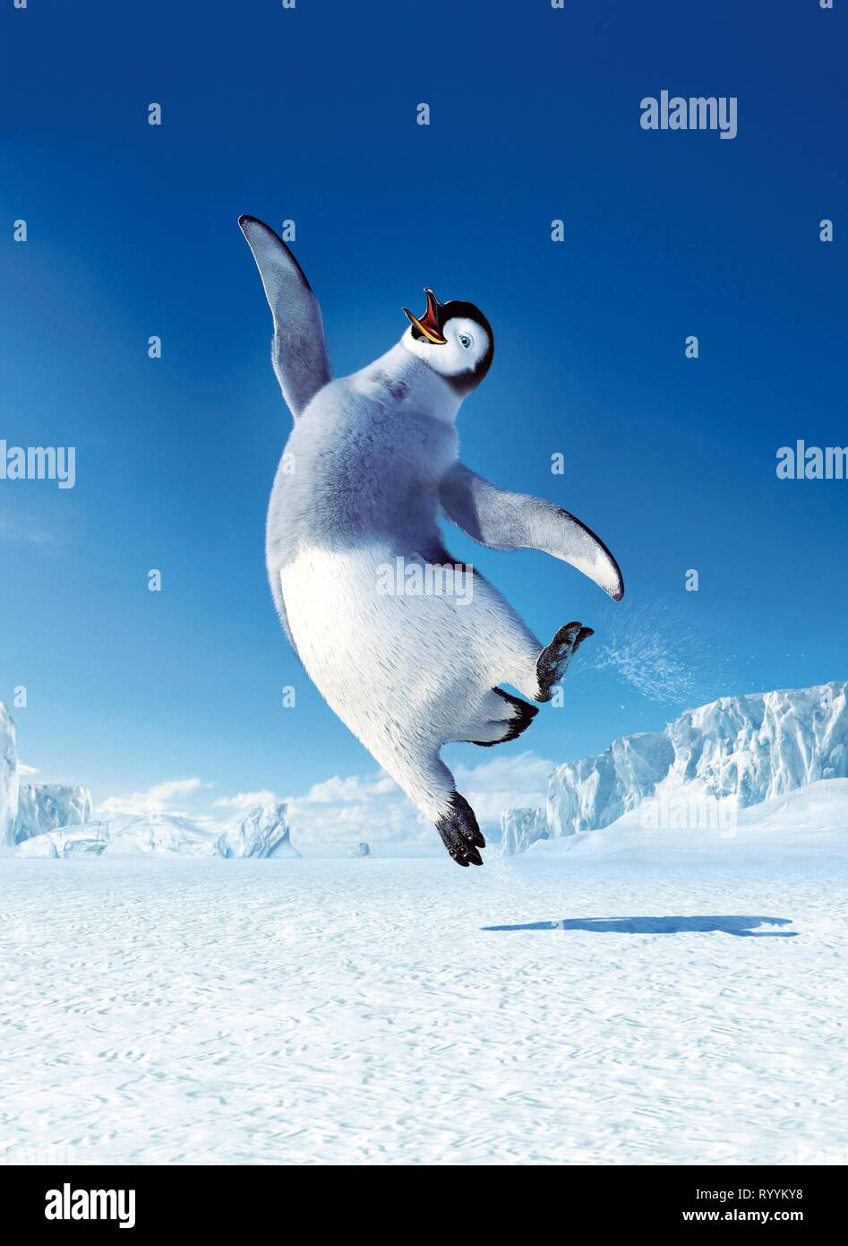Mumble The Penguin Happy Feet 2006 Stock Photo Alamy