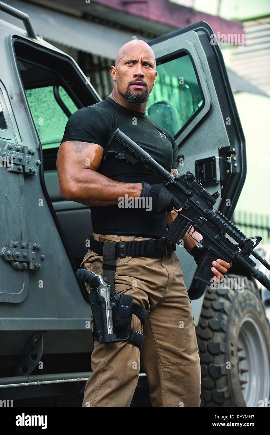 DWAYNE JOHNSON, FAST FIVE, 2011 Stock Photo