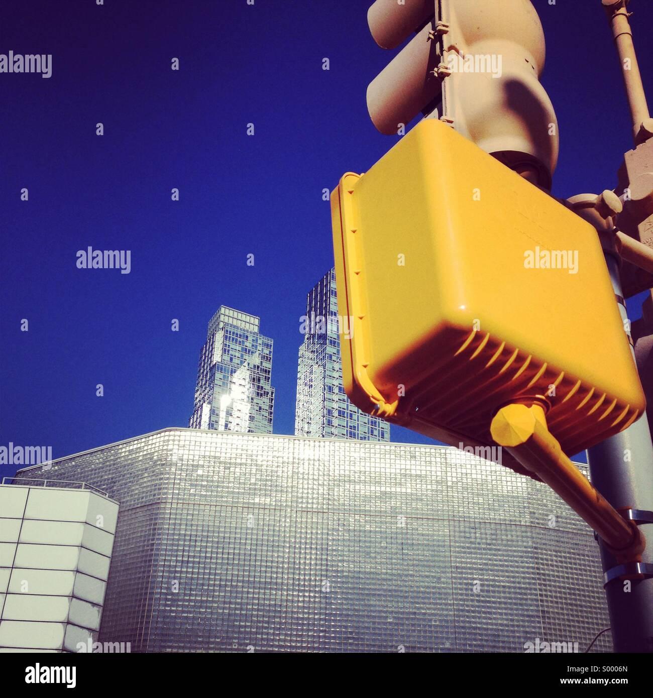 New York City street scene - Stock Image