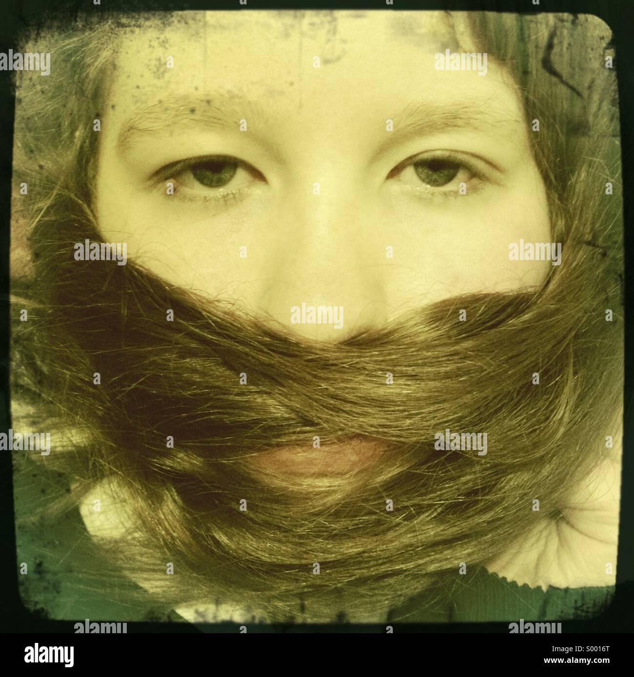 Fake Beard - Stock Image
