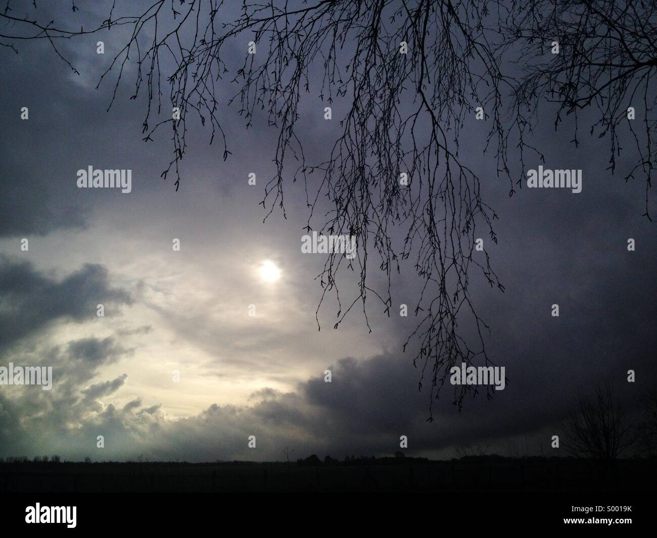 Rainy weather - Stock Image