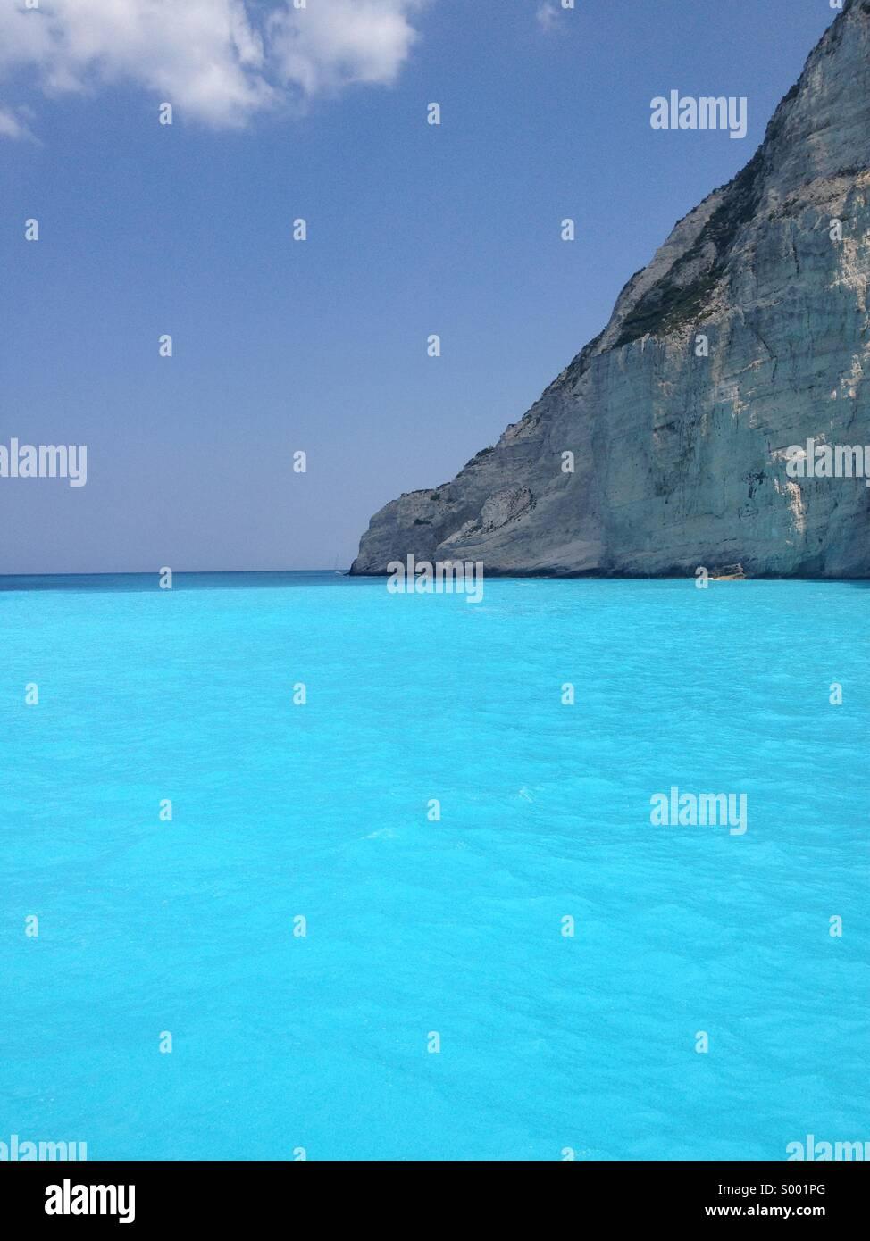 Smuggler's Cove, Zakynthos - Stock Image
