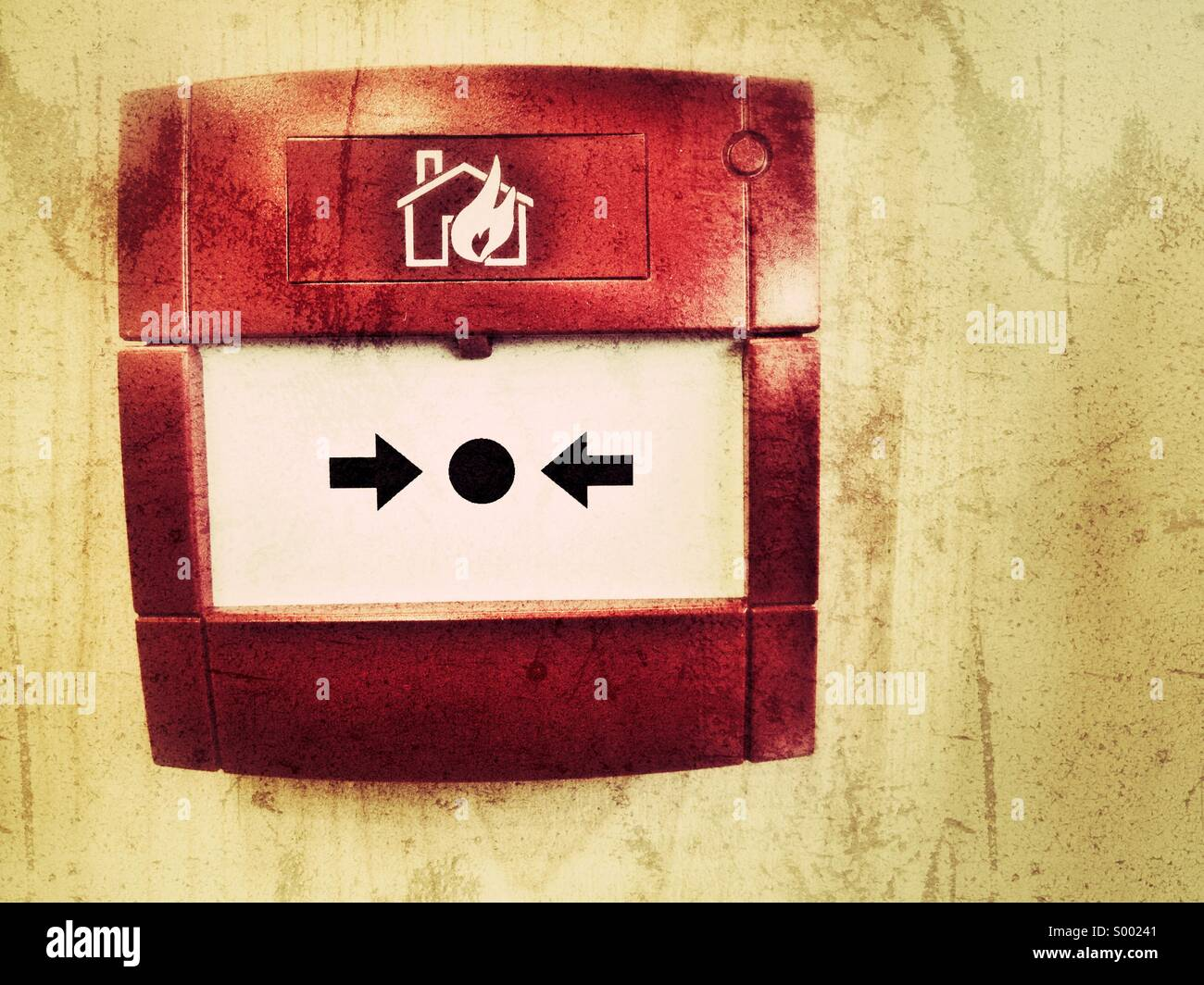 Fire alarm - Stock Image
