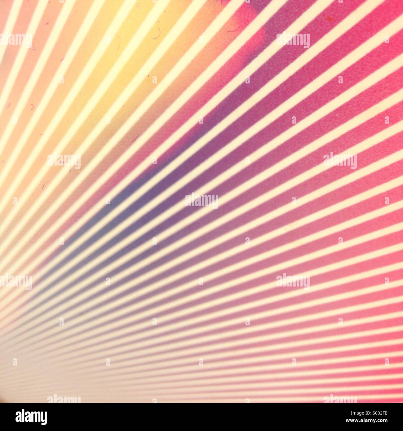 Abstract starburst stripes - Stock Image