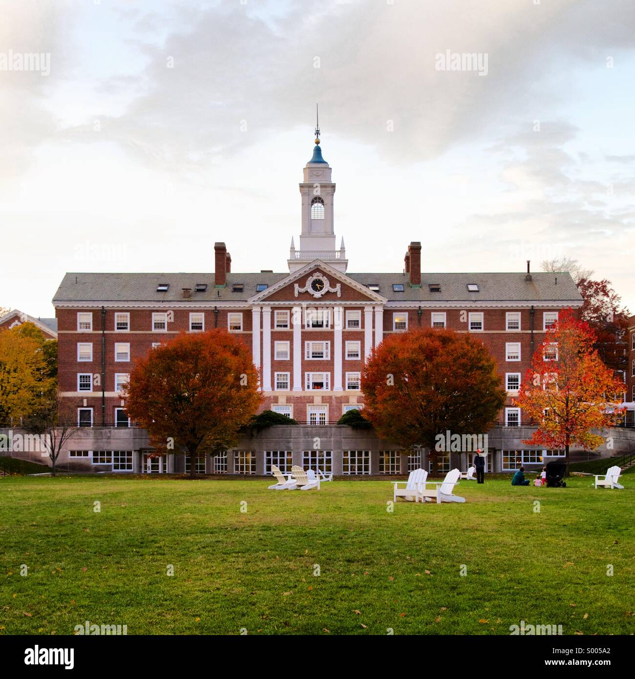 Harvard University Moors Hall - Stock Image