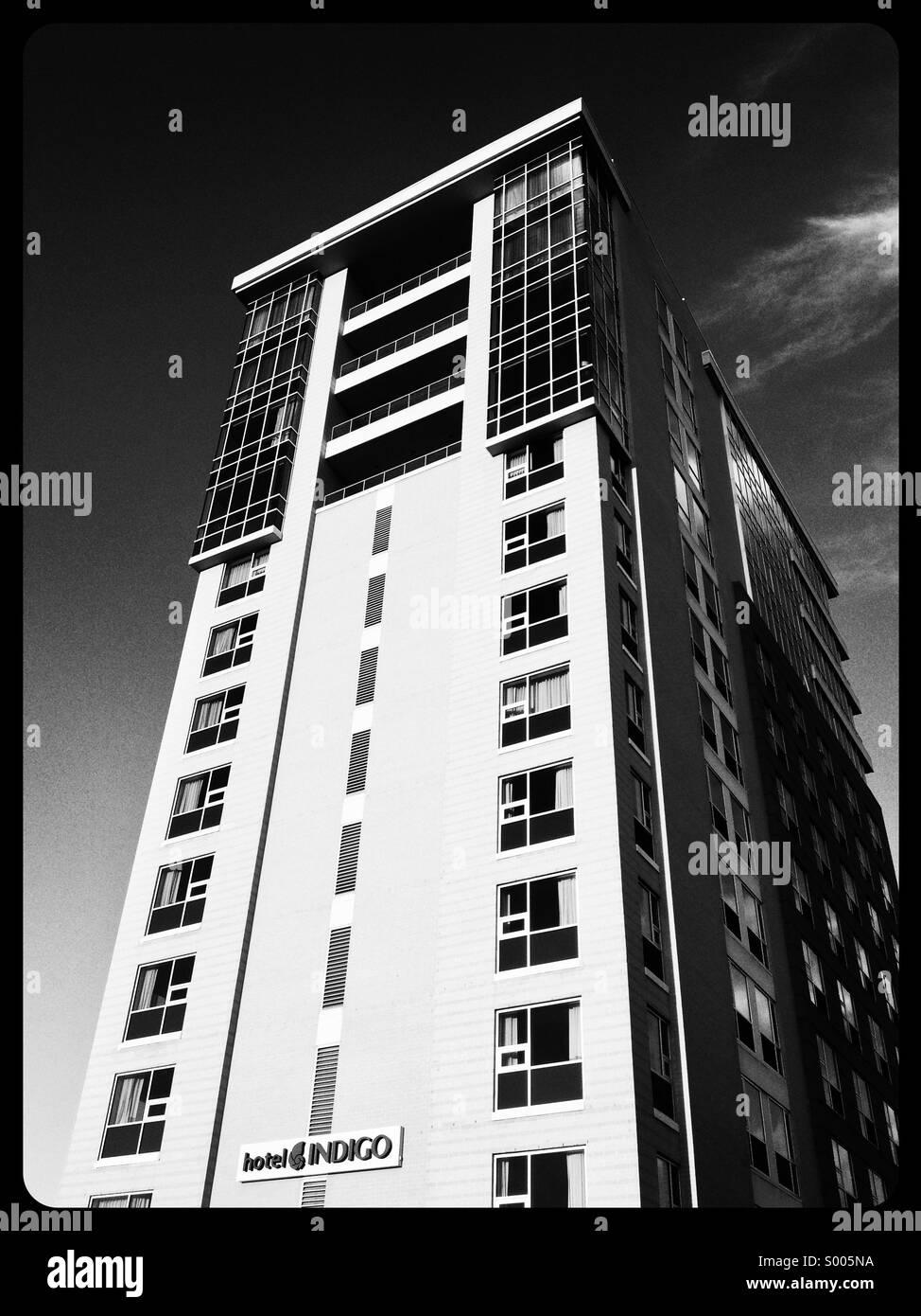 Hotel Indigo Asheville - Stock Image