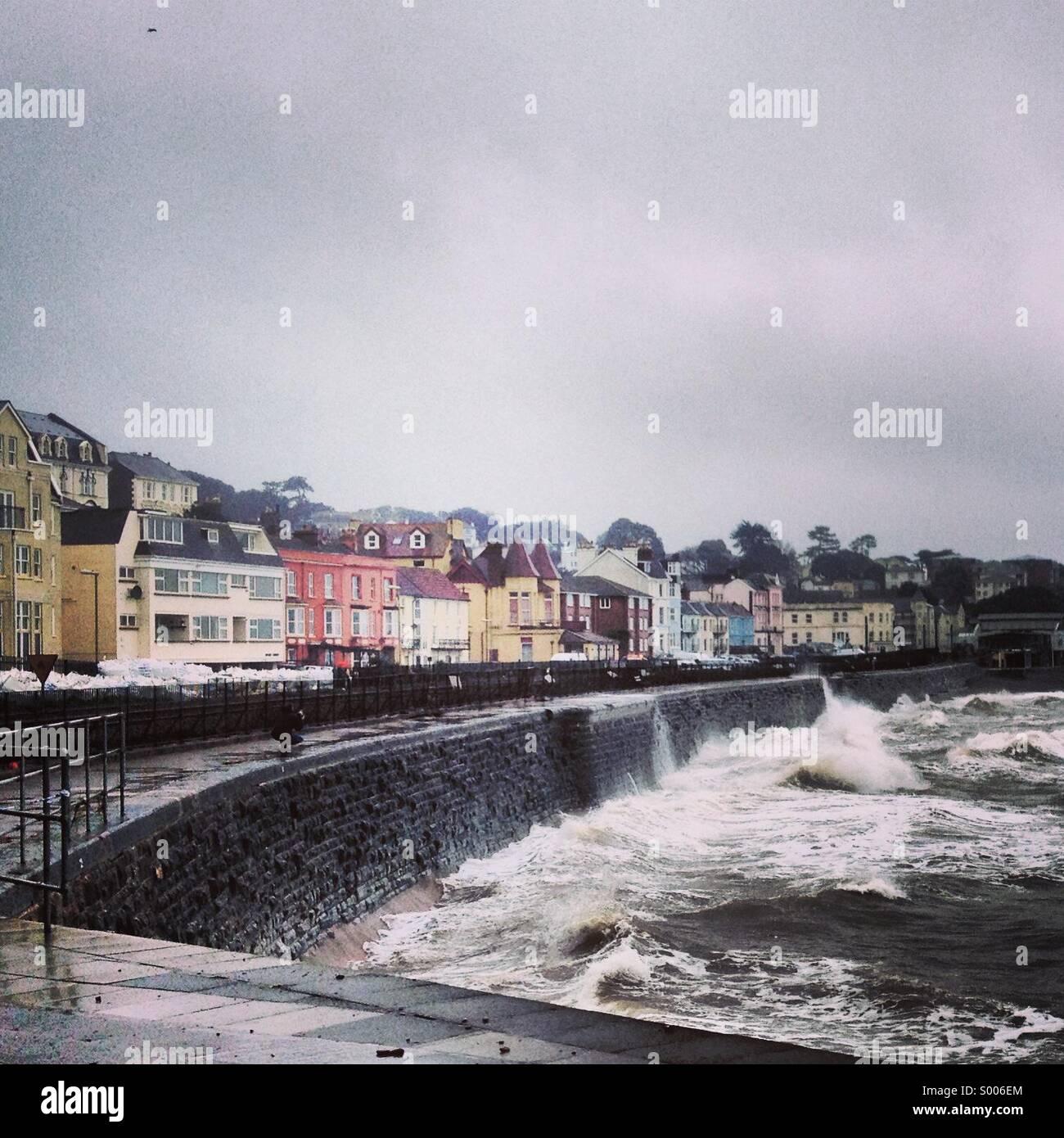 Uk storms - Stock Image