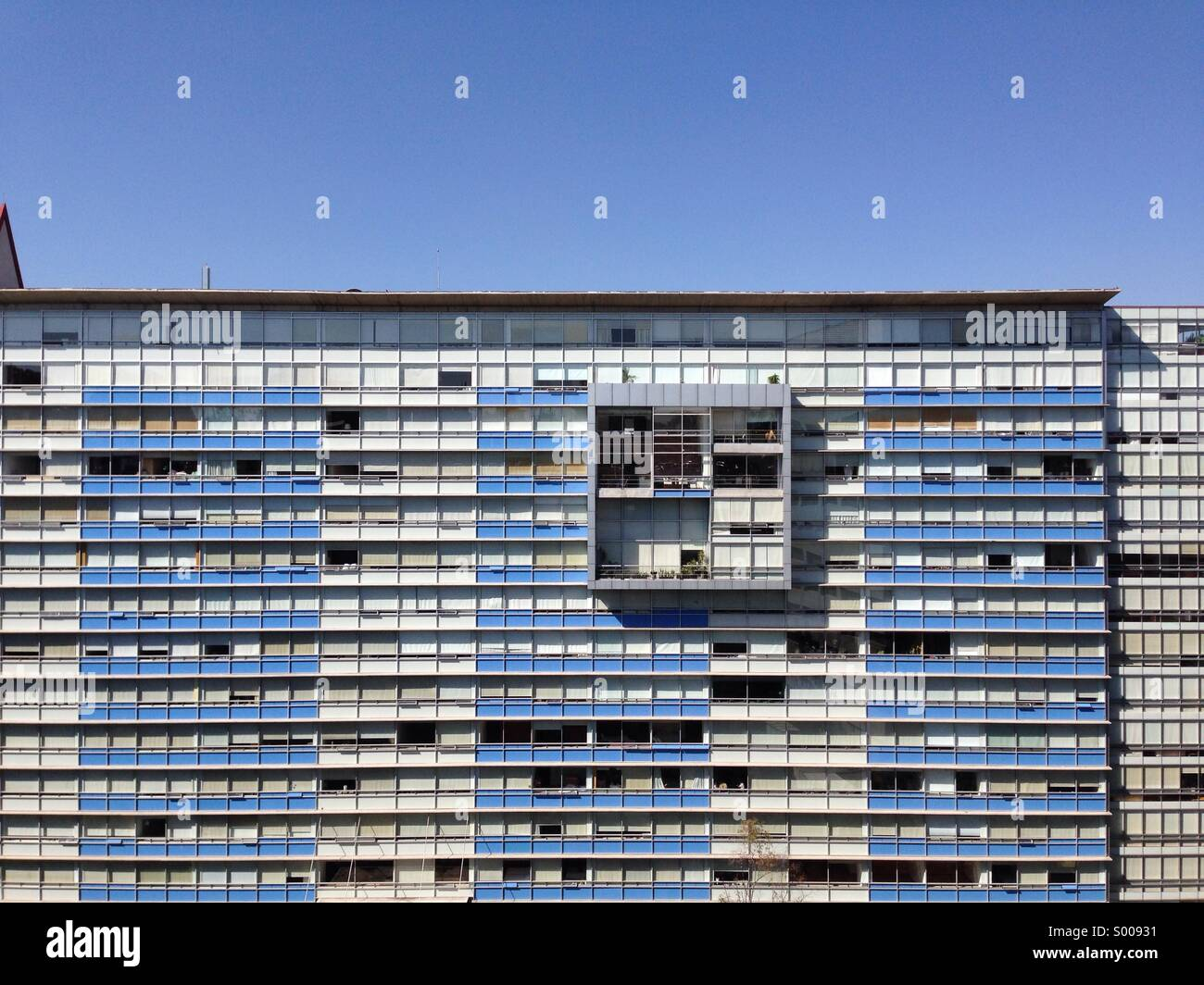 Apartment Building Bosques De Las Lomas Mexico City Stock Photo Alamy