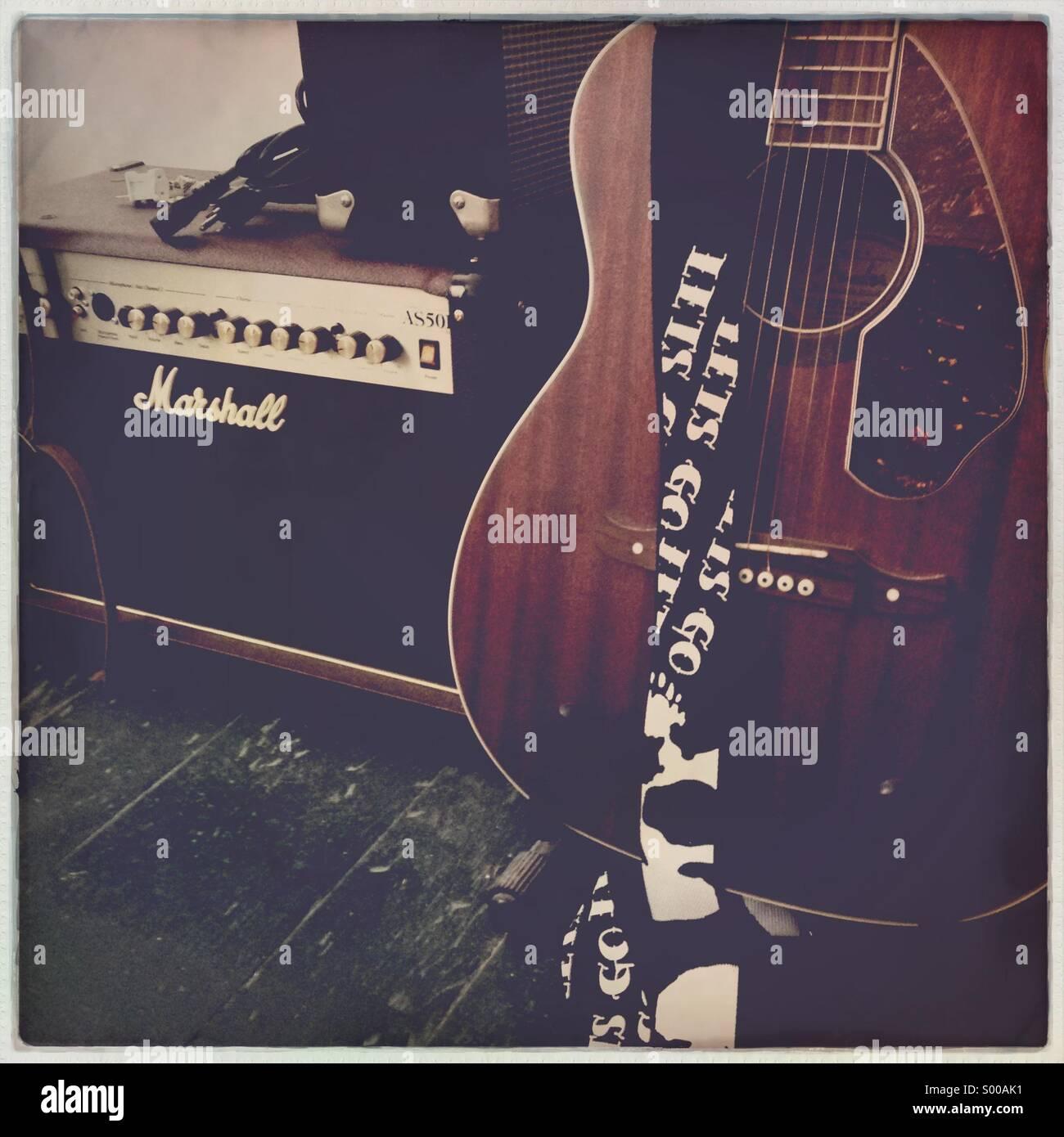 Rehearsal lapse - Stock Image