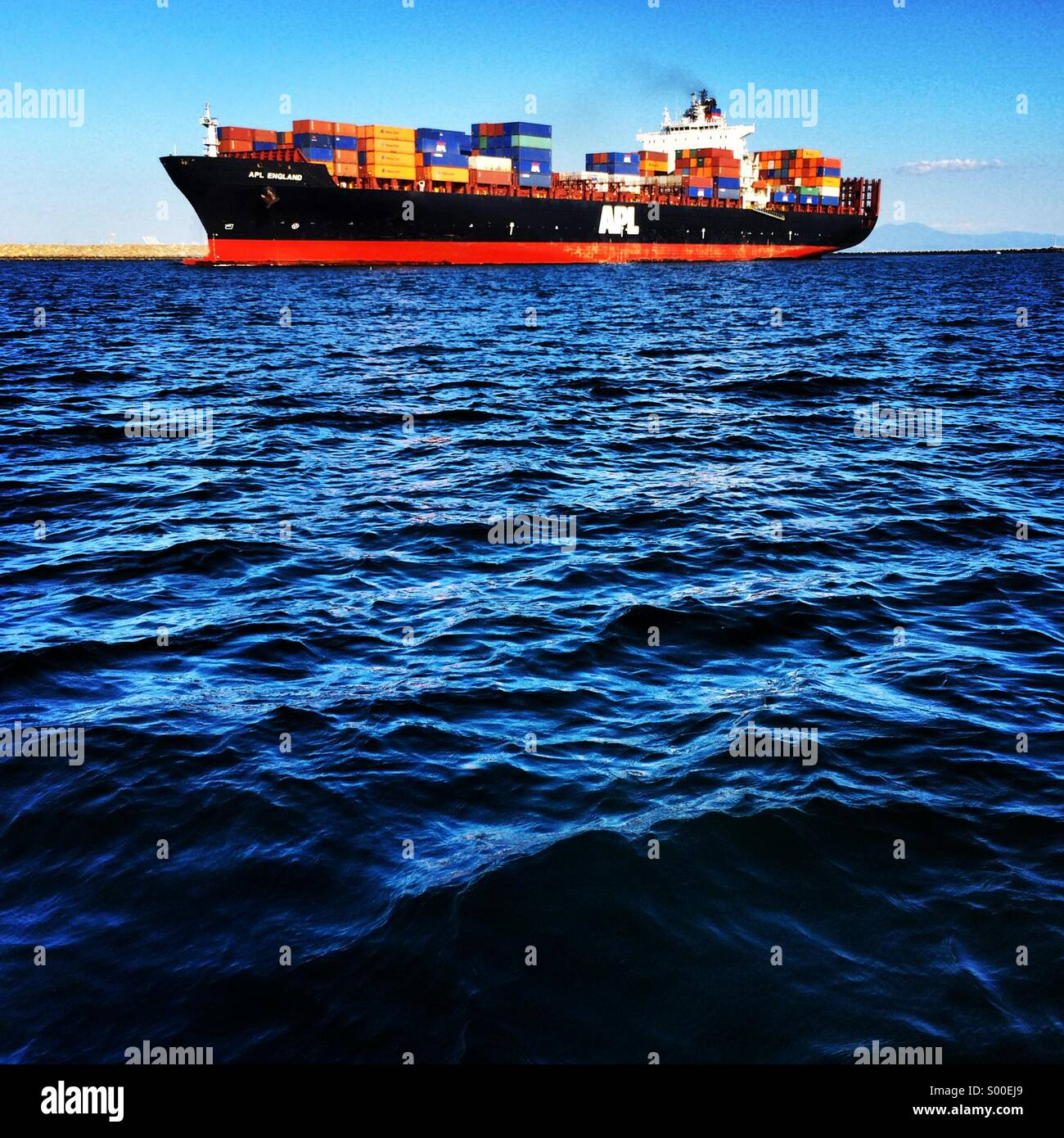 Tanker - Stock Image