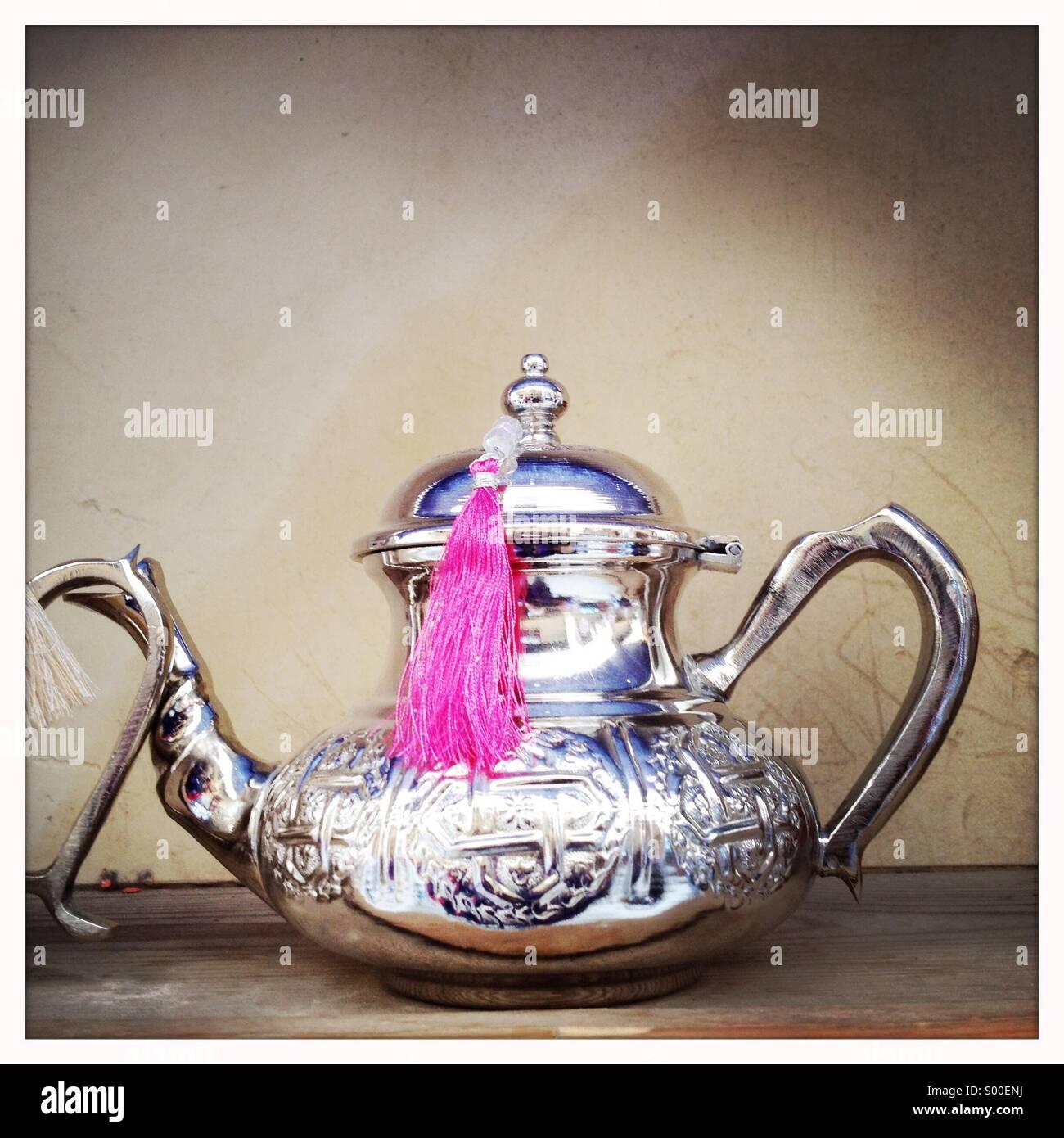 Morroccon teapot.©Ingetje Tadros - Stock Image