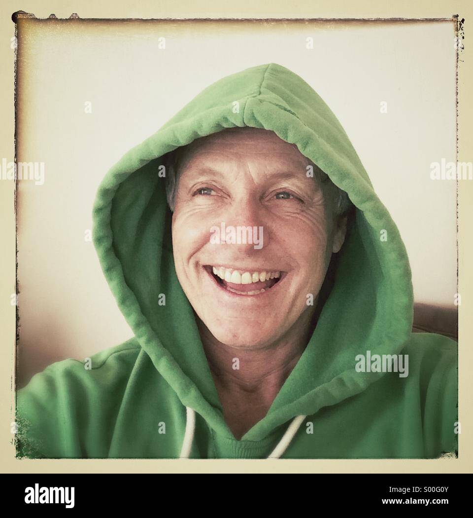Happy smiling man - Stock Image