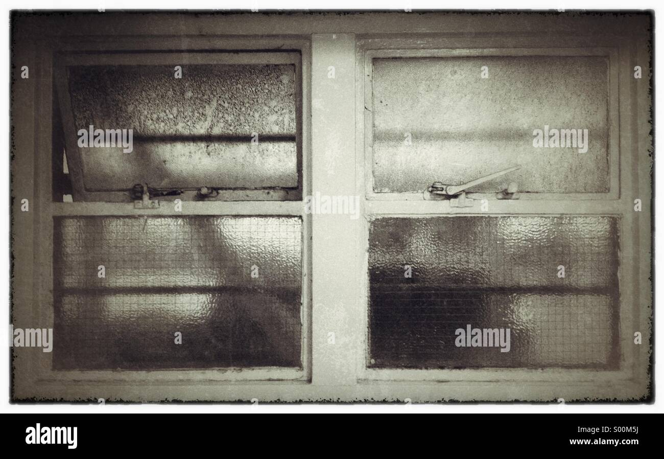 Old window. - Stock Image