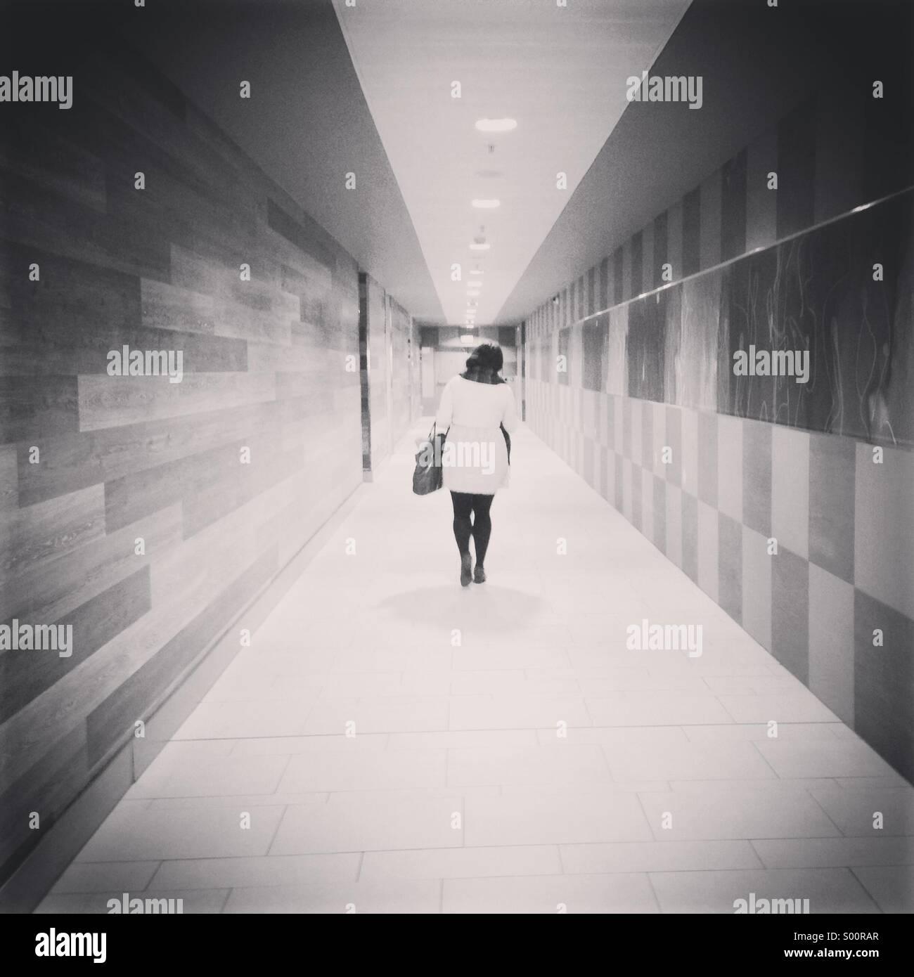 Corridor - Stock Image