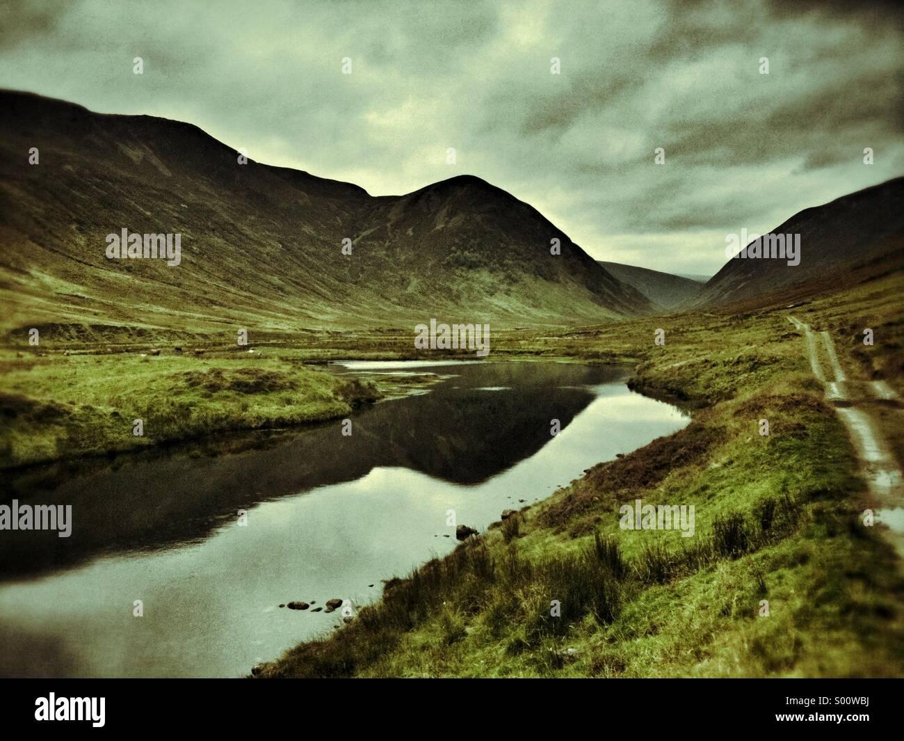 Glen Rothy, Scotland - Stock Image