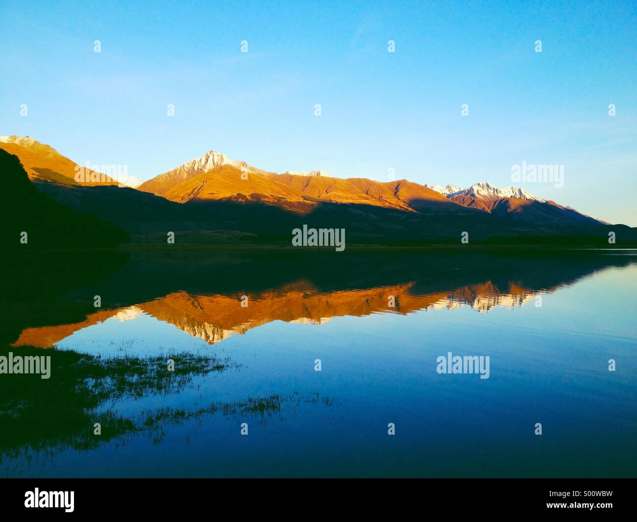 Diamond Lake, Paradise. - Stock Image