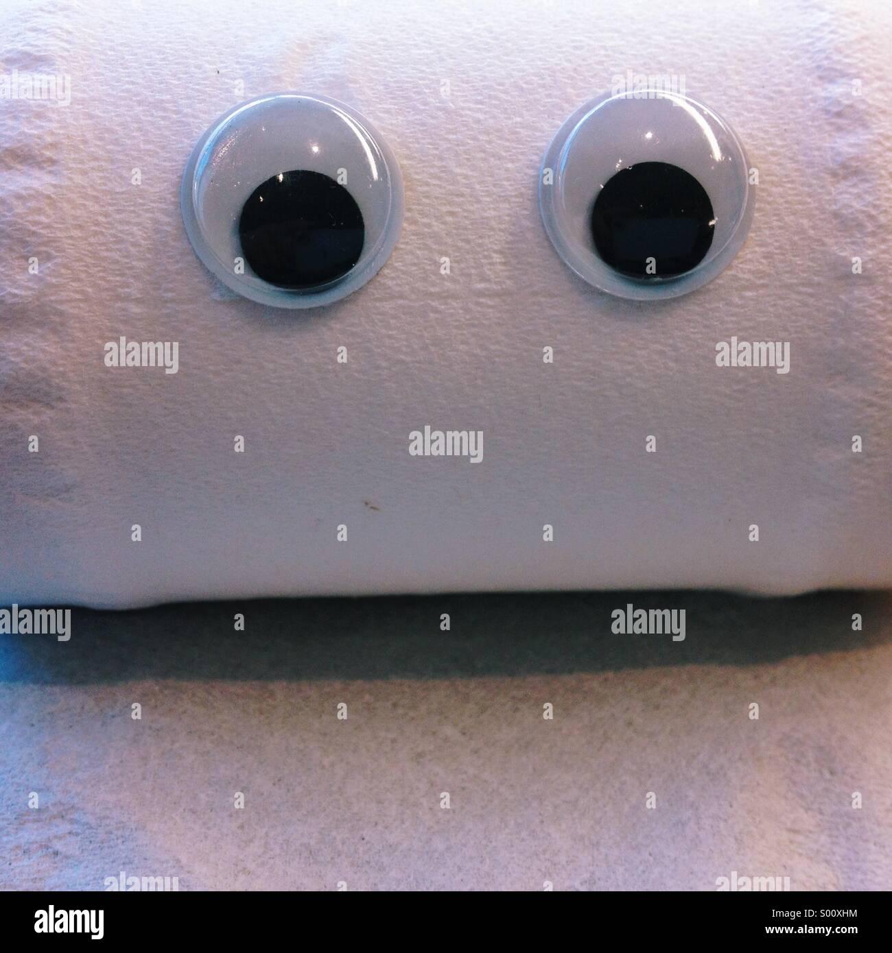 Meet Louie ,eyebombing - Stock Image