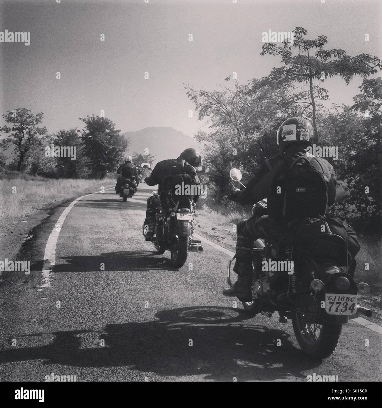 #ride #wanderlust #motorcycles #roadtrips - Stock Image