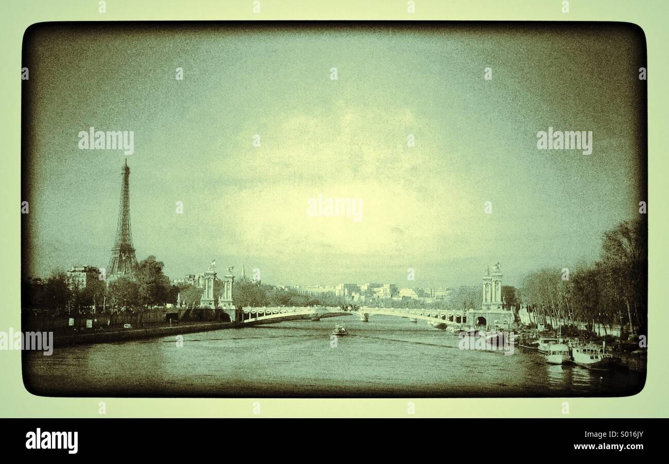 Paris, France - Stock Image