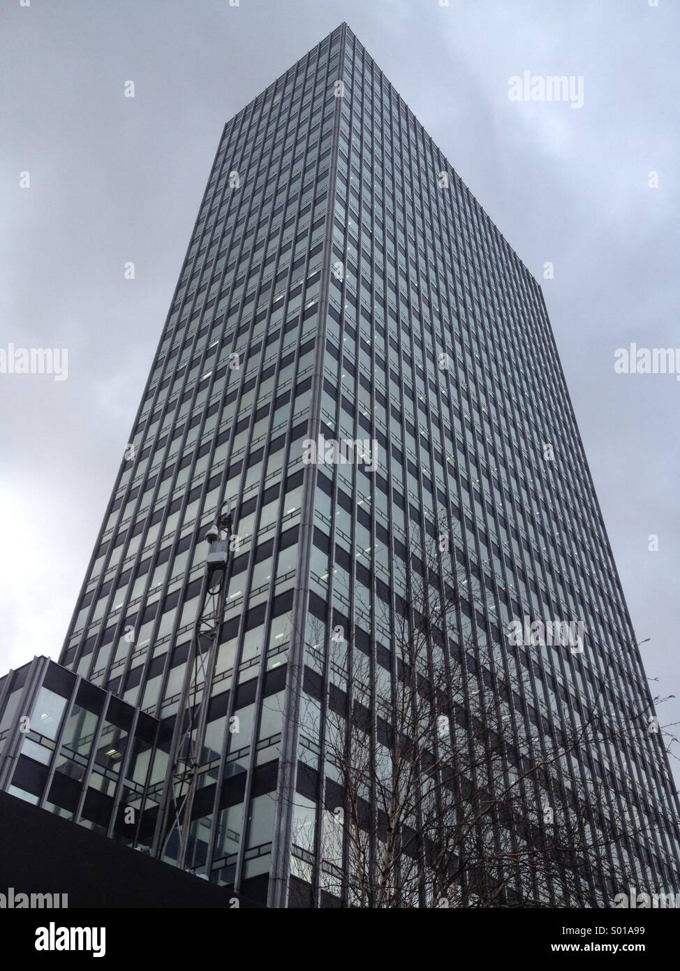CIS building Manchester - Stock Image