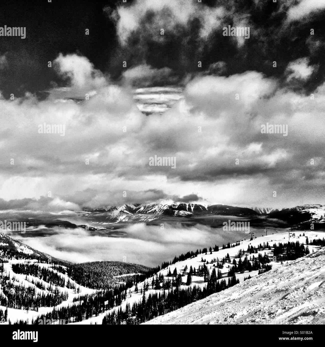 Snowscape - Stock Image