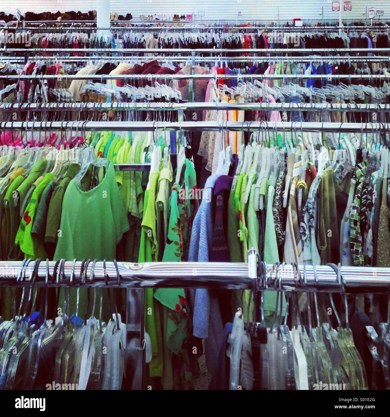 f658cf74f94 Thrift Store Stock Photos   Thrift Store Stock Images - Alamy