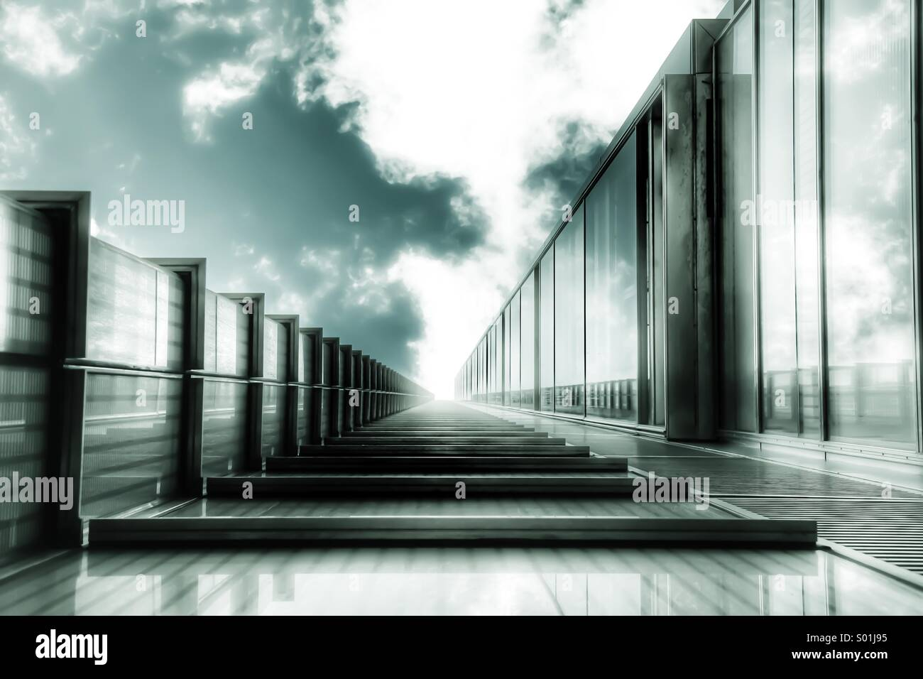Architectural Vanishing Point - Stock Image