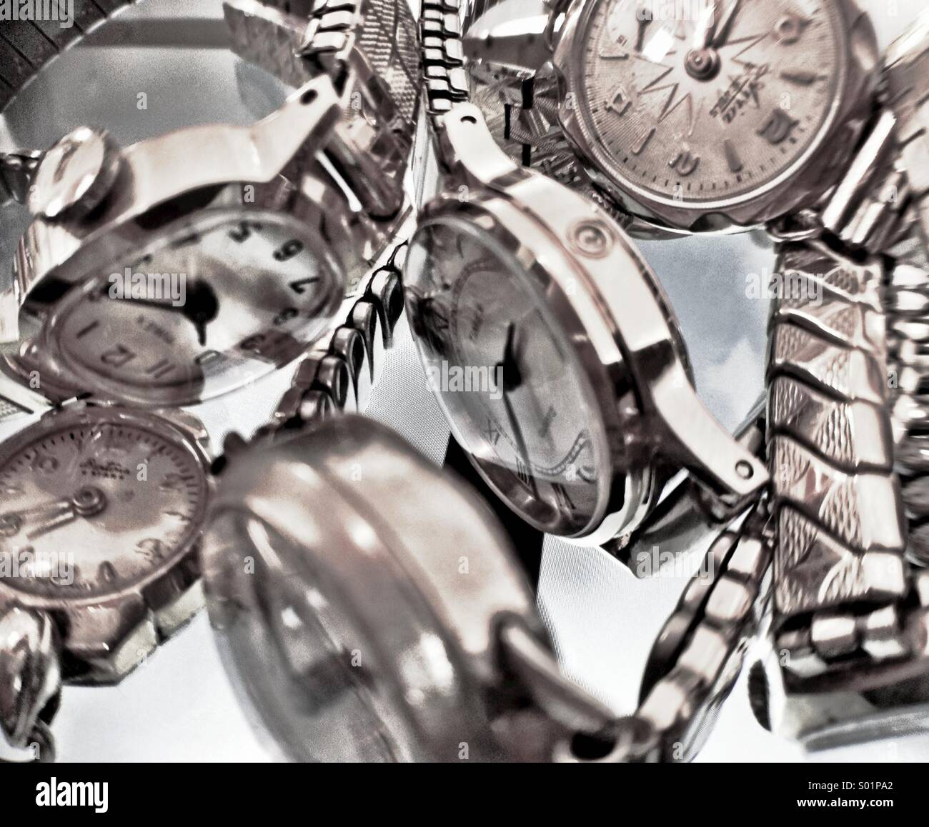 Watches - Stock Image