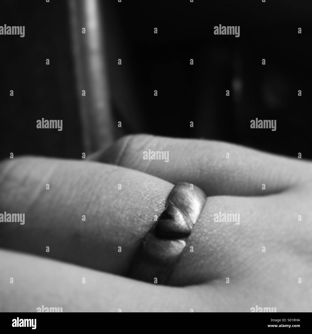 heart ring - Stock Image