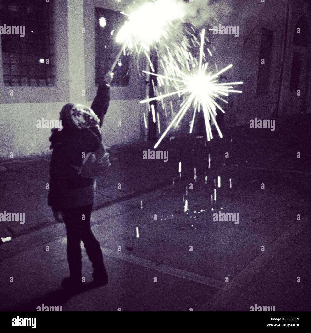 Happy new year! - Stock Image