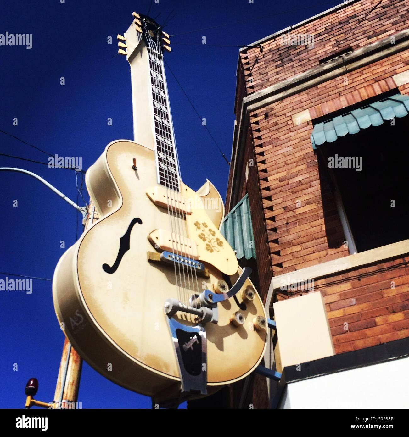 Sun Studios. Memphis Tennesse - Stock Image