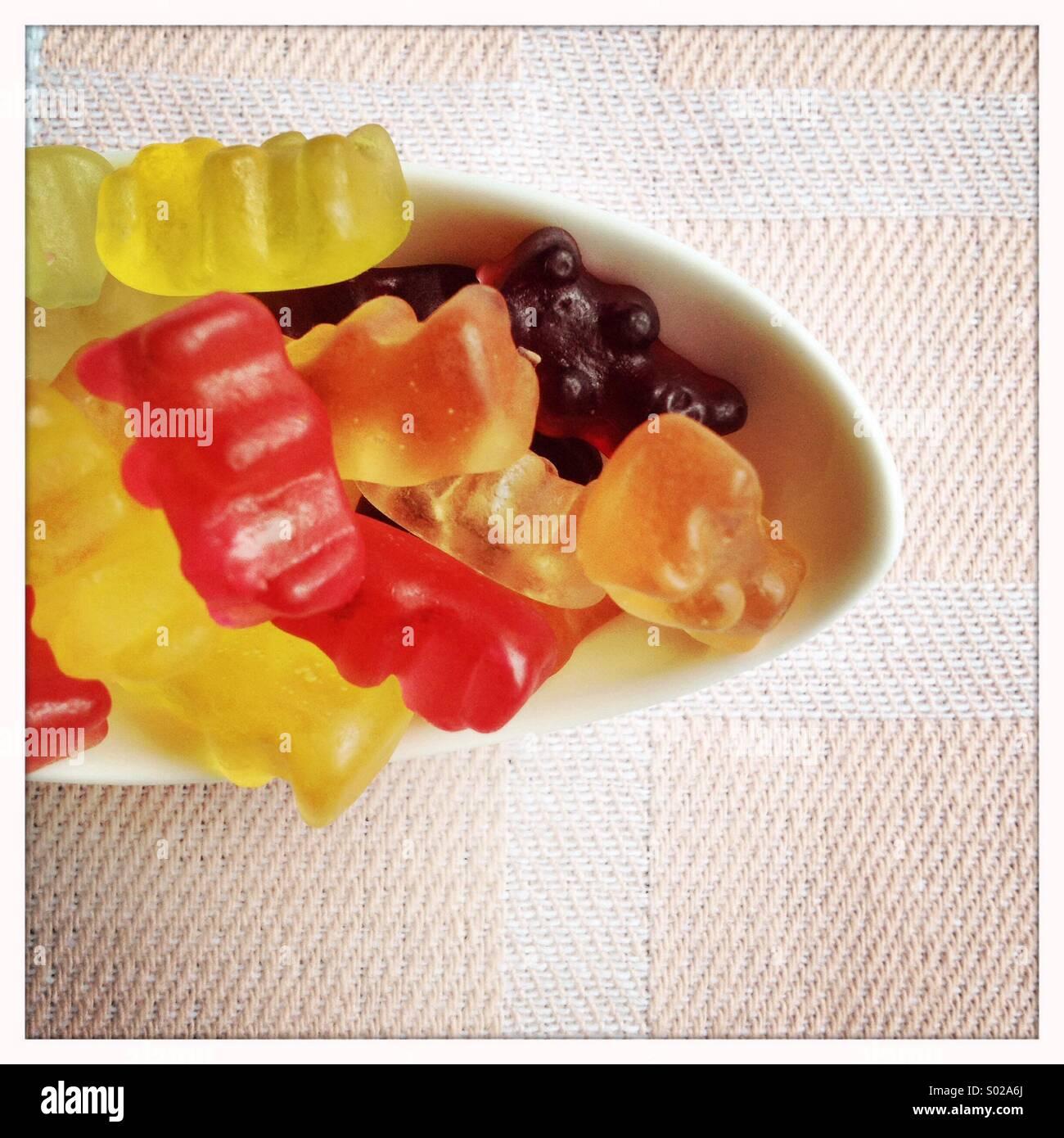 Gummy Bears - Stock Image