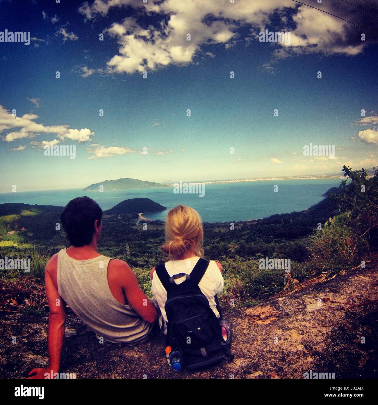 Beautiful view in Vietnam - Stock Image