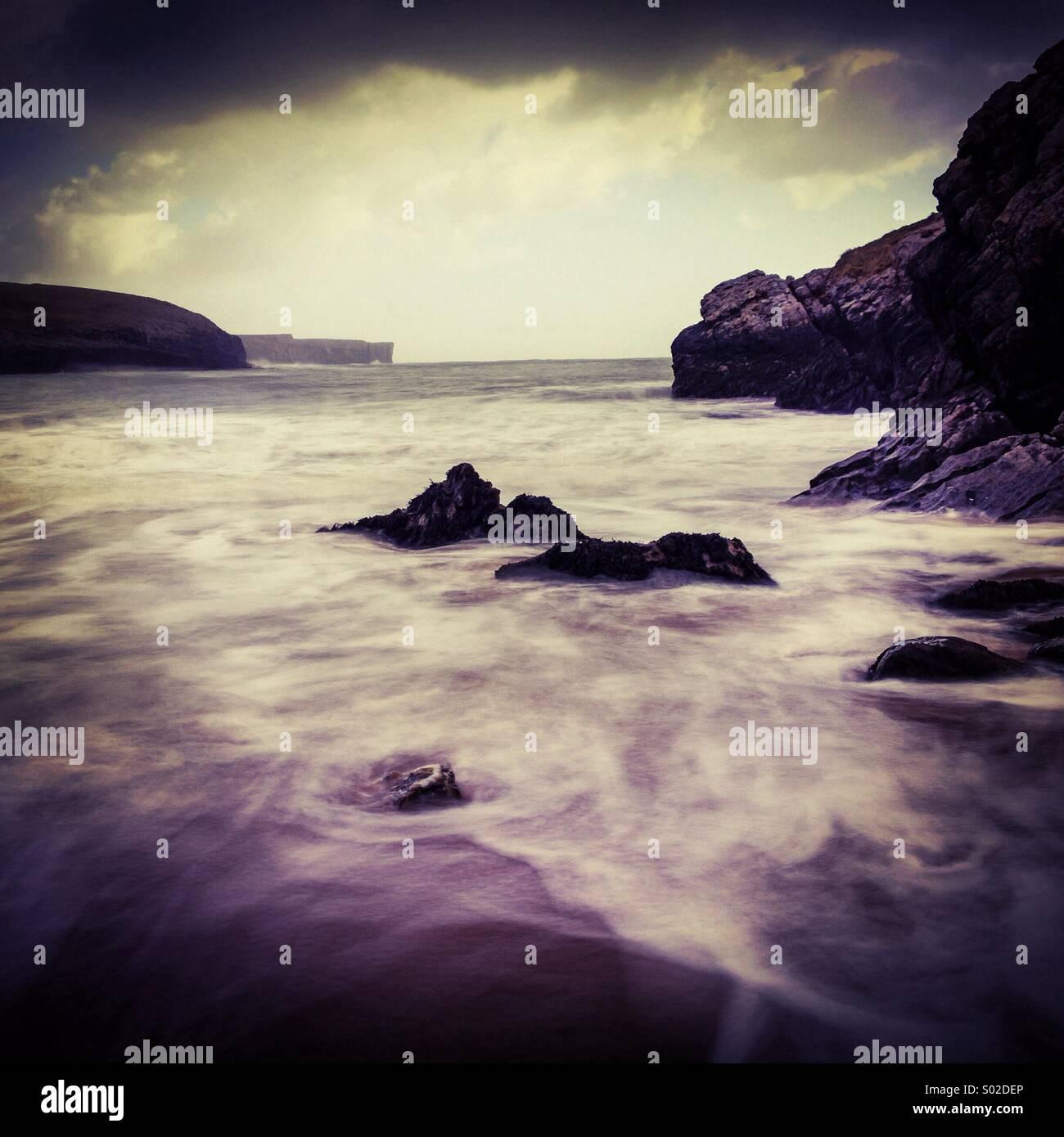 Pembrokeshire Coast - Stock Image