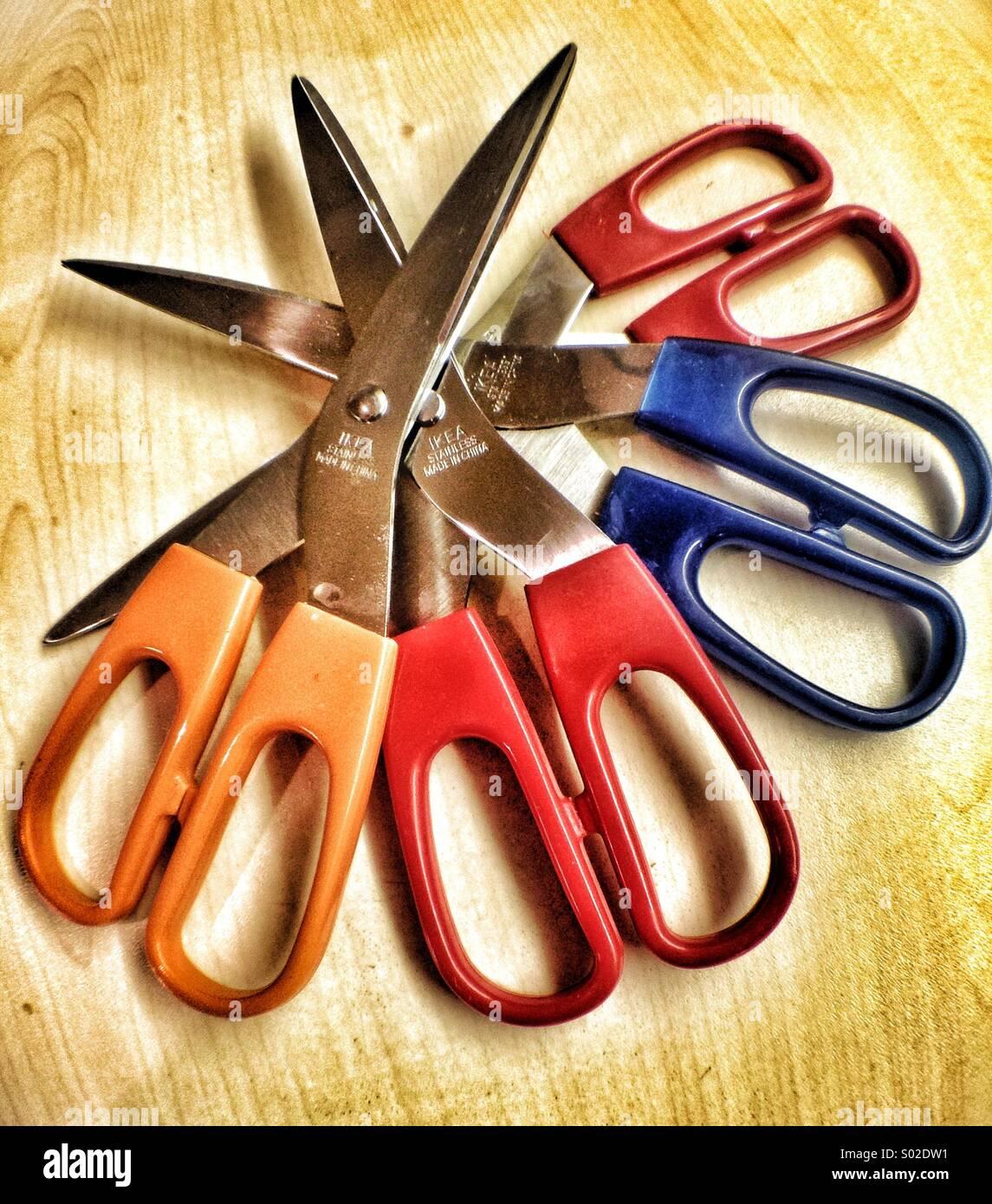 Scissors - Stock Image