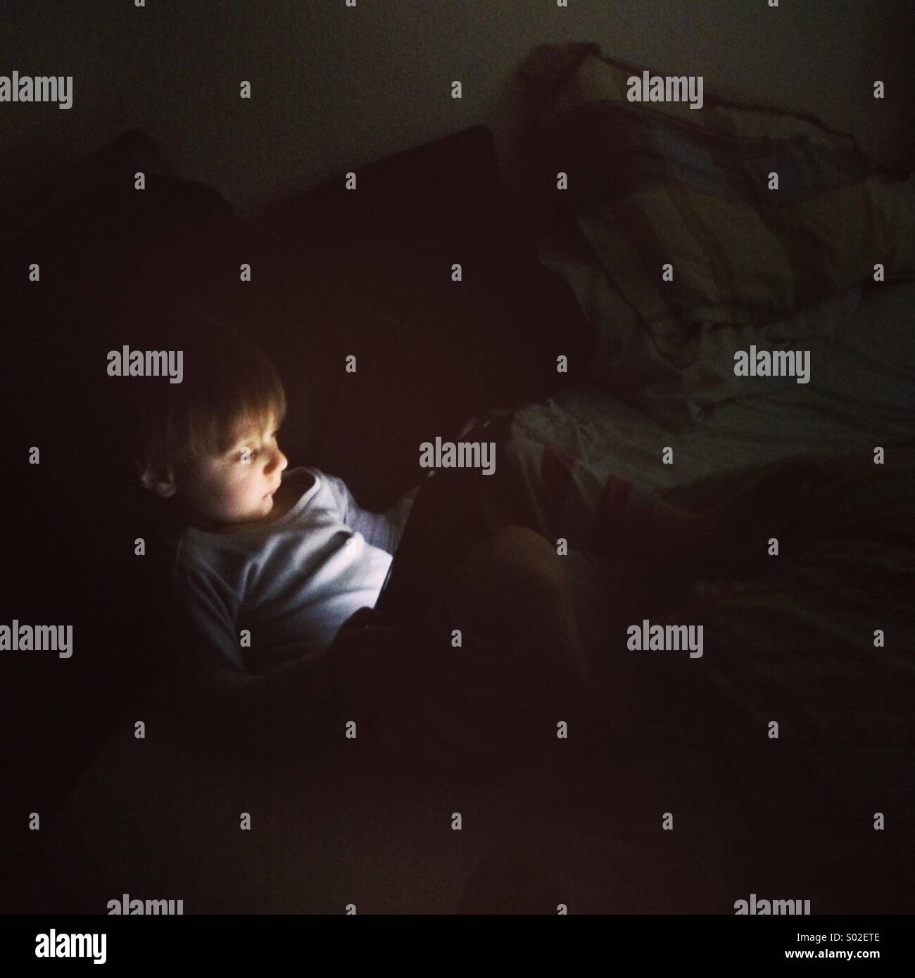 Screen Time. - Stock Image
