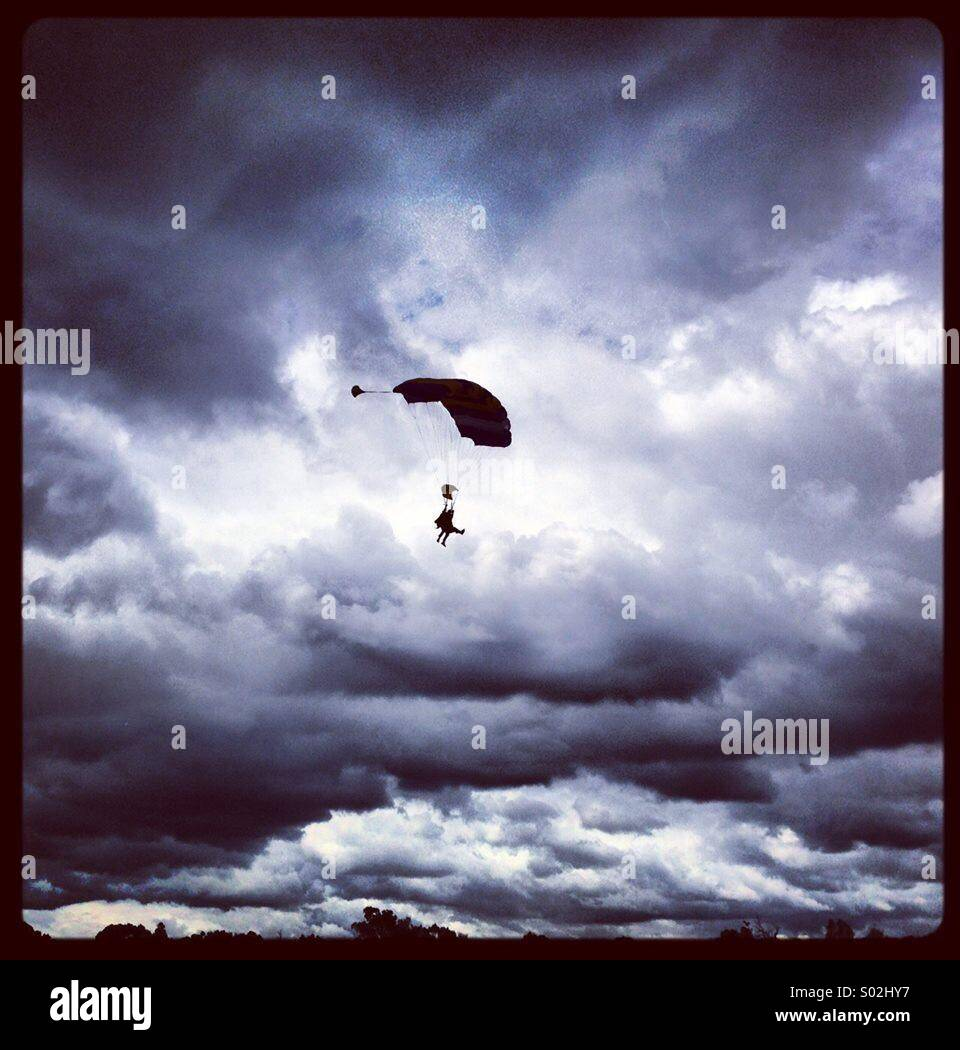 Skydiving - Stock Image