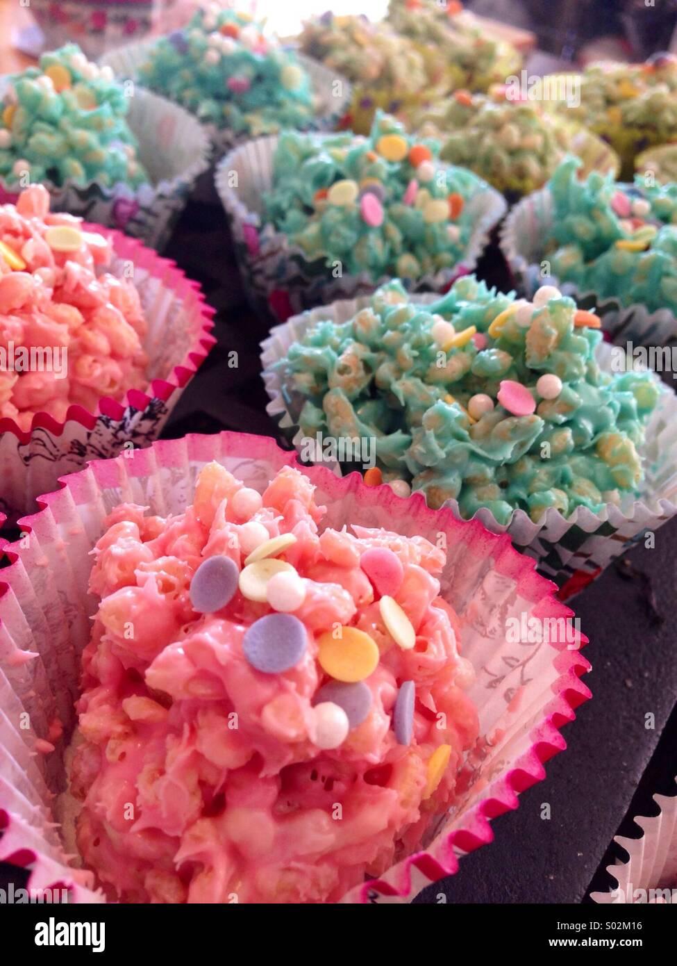 Rice cakes - Stock Image