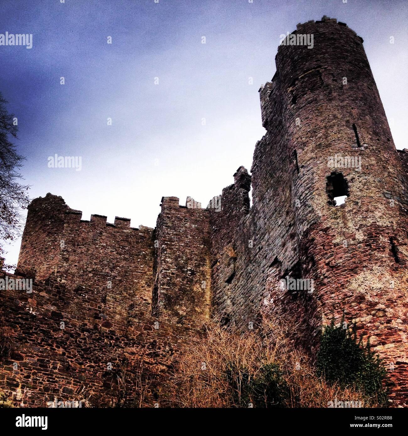 Haunted castle. - Stock Image