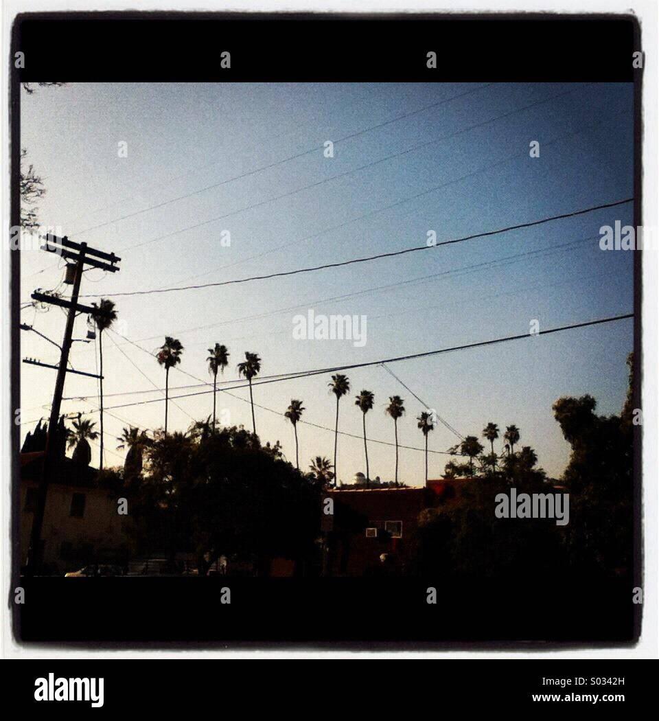 Los Feliz, Los Angeles, California Stock Photo